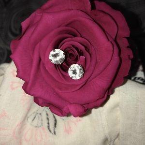 Jewelry - ❄️Shiny stud earrings❄️